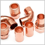 We stock copper fittings